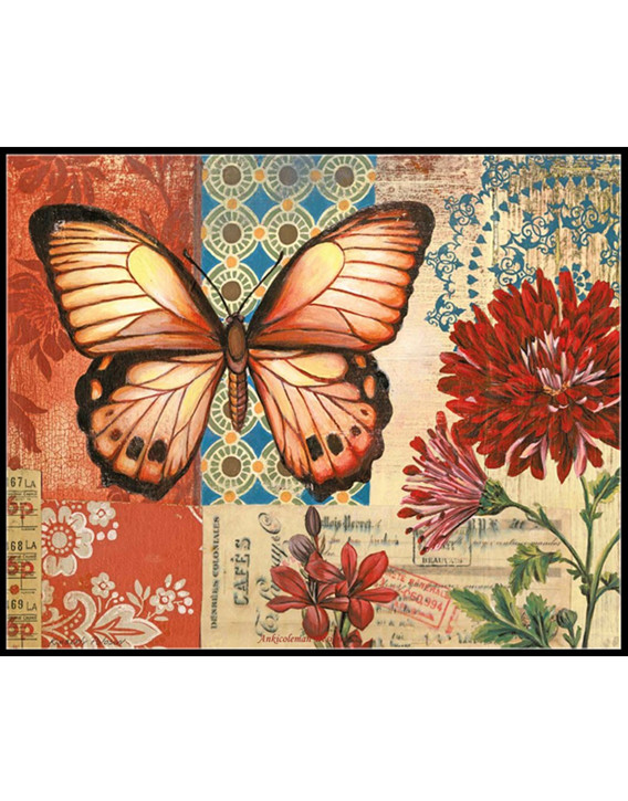 Vintage Butterfly Garden - Counted Cross Stitch Patterns ...
